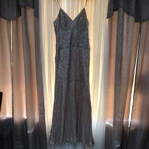 Nicole Miller Sequin Evening Gown